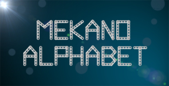 After Effects Project - VideoHive Mekano Number Creator 2720280