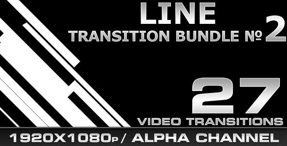 [VideoHive 306928] Line Transition Bundle 2 | Motion Graphics