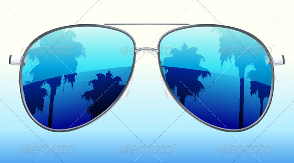 Funky sunglasses - Seasons/Holidays Conceptual