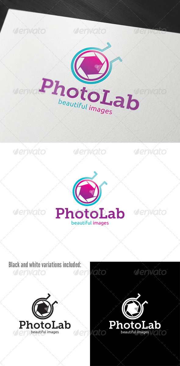 Photo Lab Logo - Objects Logo Templates