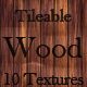 10 Tileable Wood Texture Patterns - GraphicRiver Item for Sale