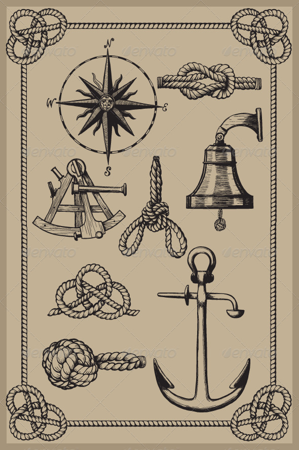 Old Nautical Symbols And Meanings