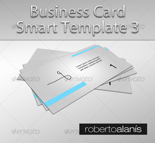 Business Card Smart Template 3 - Business Cards Print