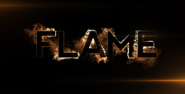 After Effects Project - VideoHive Flame Title 307067