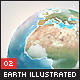 Earth Illustrated, 3D World and Infographics - V2  - GraphicRiver Item for Sale