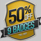 9 Badges Collections - GraphicRiver Item for Sale
