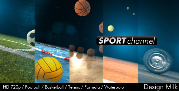 After Effects Project - VideoHive Sport Channel 307146
