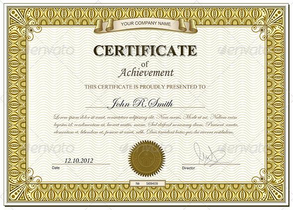 Gold certificate - Retro Technology