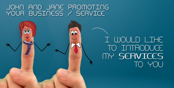 After Effects Project - VideoHive John and Jane Promoting Your Business Service 2880043