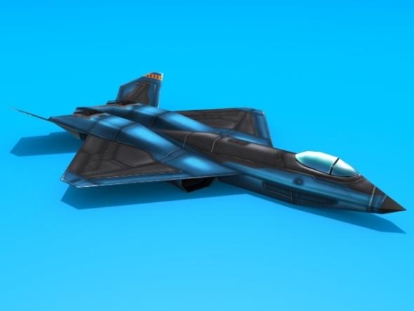 3DOcean YF-23 Black Widow 2941844