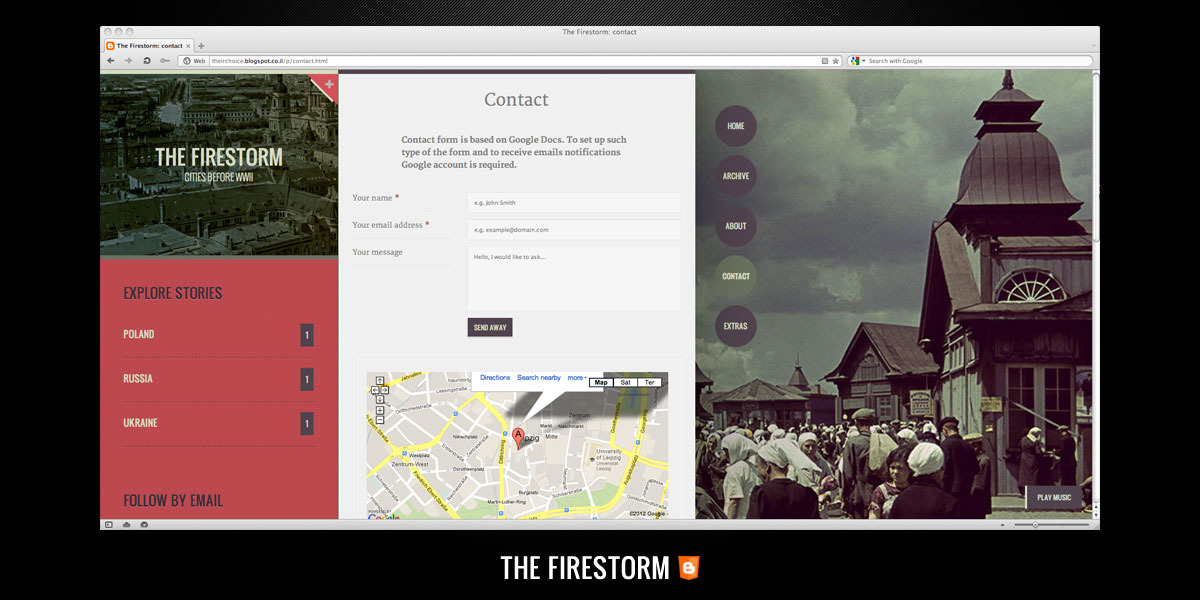 The Firestorm – Personal Blogging and Photography