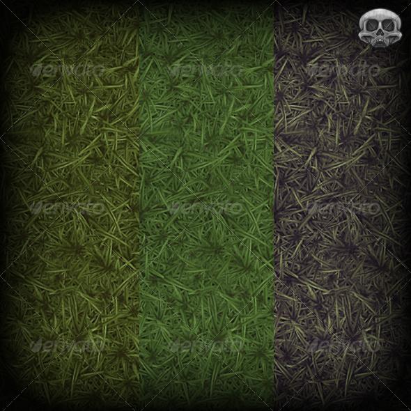 3DOcean Grass Hand Painted Texture Tile 2942404