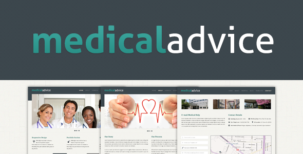 Medical Advice - Hospital/Clinic PSD Template