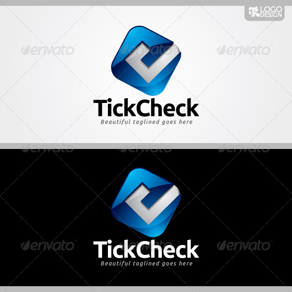 Tick Check - Symbols Logo Templates