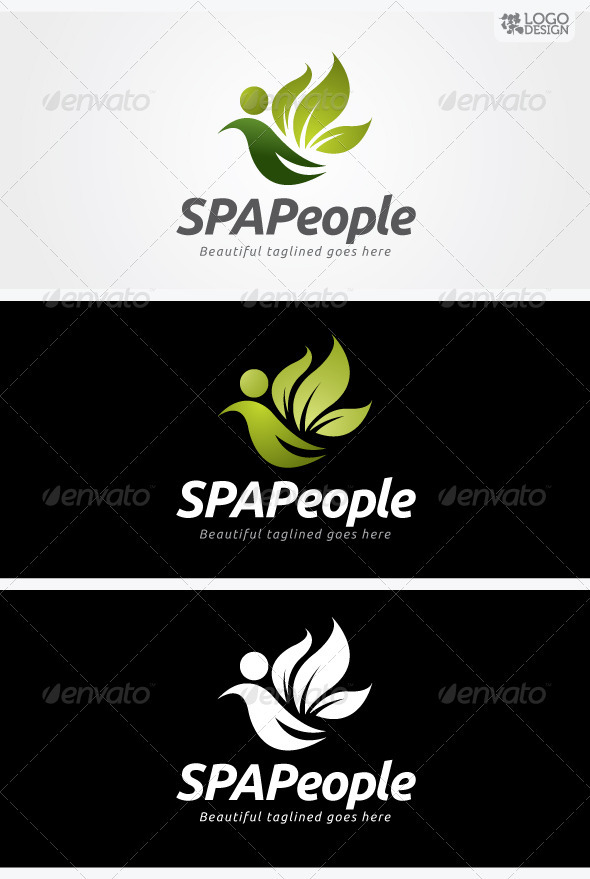 SPA People - Nature Logo Templates