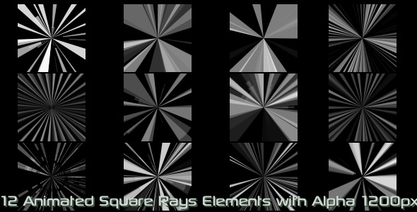 Square Rays Elements Vol.1