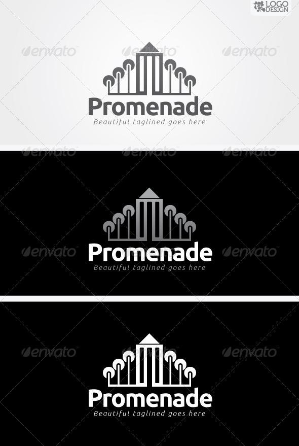 Promenade - Buildings Logo Templates
