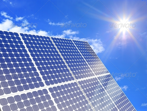 Solar power - Stock Photo - Images