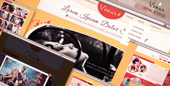 Venus - Beauty Center HTML Template