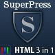 SuperPress Theme, Business+Portfolio+Magazine HTML