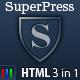 SuperPress Theme, Business+Portfolio+Magazine HTML  Free Download