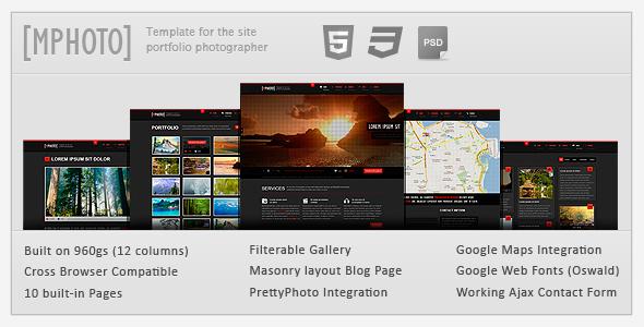 mphoto html - Portfolio Creative