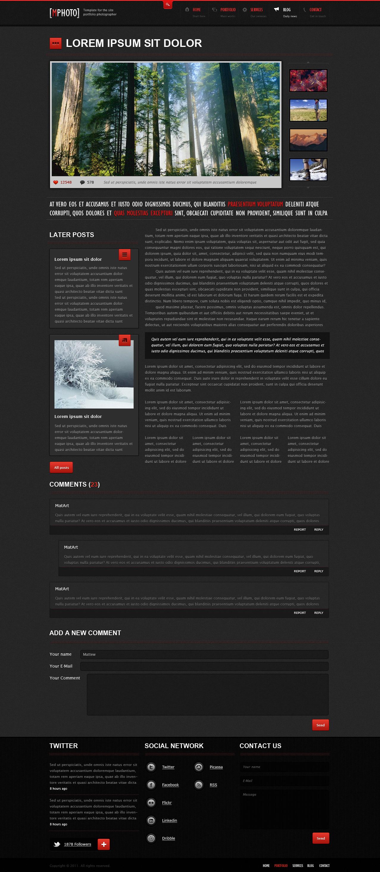 mphoto html