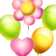 Flower Balloon - GraphicRiver Item for Sale