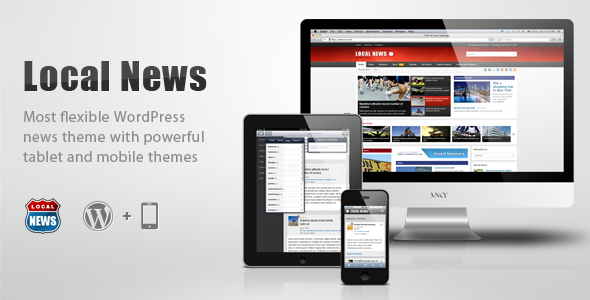 ThemeForest Local News WP News Theme with Mobile Version 2945886