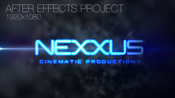 After Effects Project - VideoHive Cinematic Logo Intro 2946226
