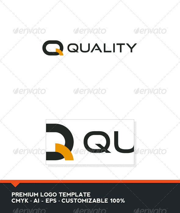Quality Letter Q Logo Template Graphicriver