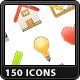 150 Web & Software Icons