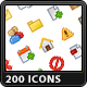 200 Mini Icons
