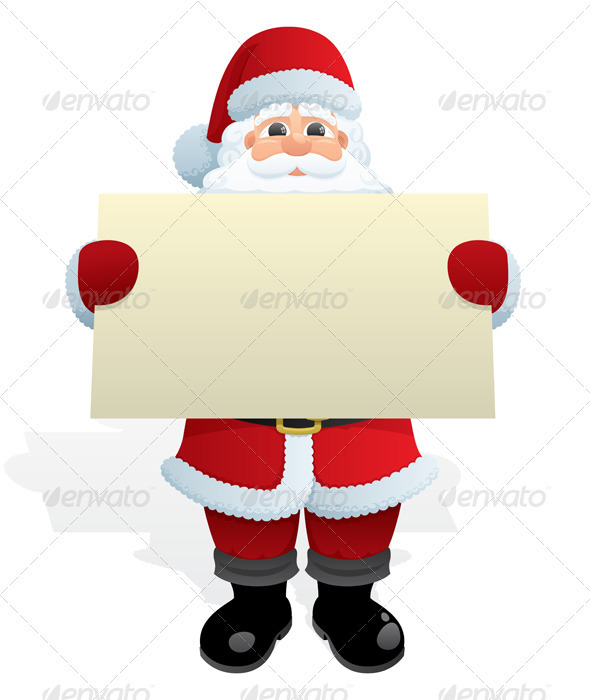 GraphicRiver Santa Message 121908
