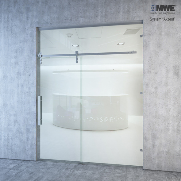 "Sliding door system ""Akzent"" by MWE factory - 3DOcean Item for Sale"