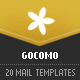 GOCOMO - 20 modular e-mail templates - ThemeForest Item for Sale