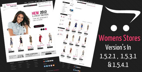 ThemeForest Womens Stores Opencart Theme 2284643