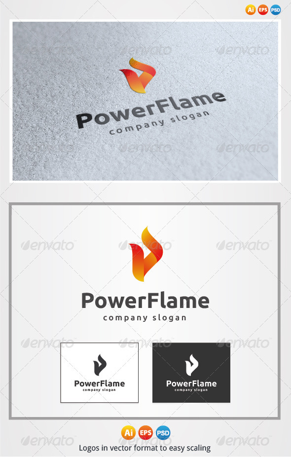 Power Flame Logo