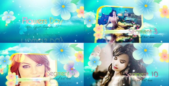 Videohive Flowers Day Promo Worker 2951129