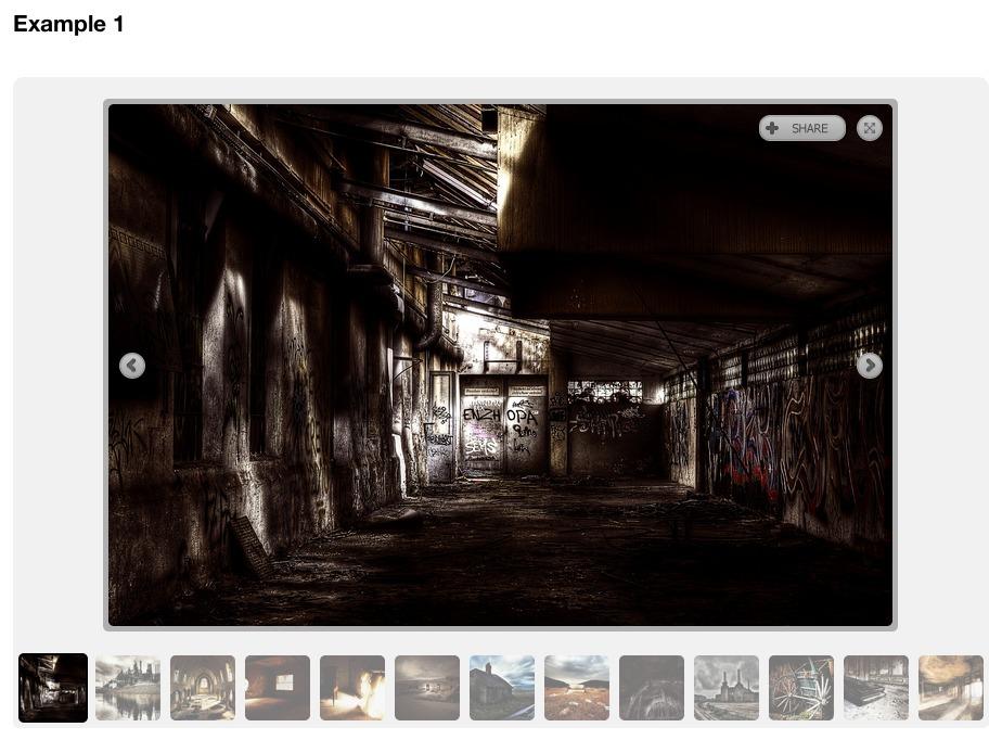 Thumbnail Gallery (WP NextGEN Gallery Template) - Gallery Example 1