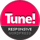 Tune Responsive Creative Business WordPress Theme - ThemeForest Item for Sale