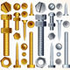 Screws, Bolts and Rivets - GraphicRiver Item for Sale