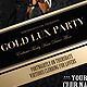 Gold Vip Lux Party Flyer / Poster - GraphicRiver Item for Sale