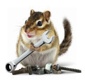 craftsman chipmunk with wrench - PhotoDune Item for Sale