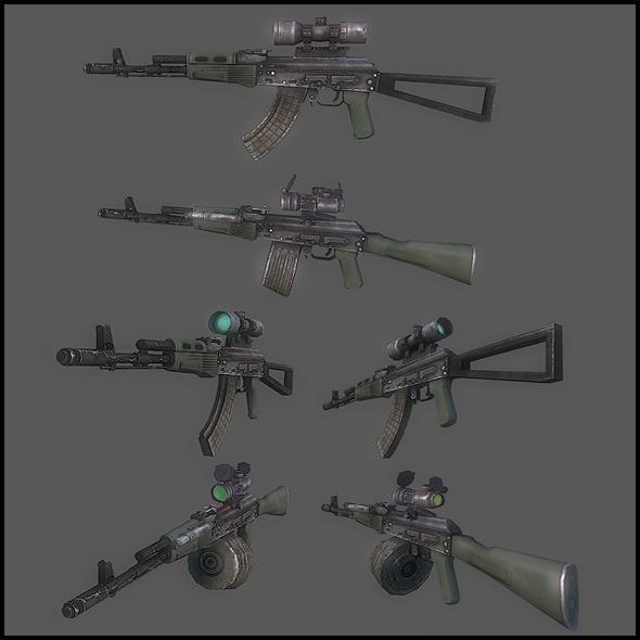 AK 103 - 3DOcean Item for Sale