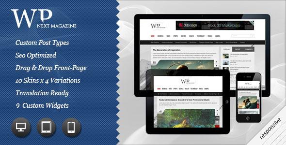 Next Responsive WP Magazine - ThemeForest Item for Sale