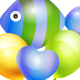 Fish Balloon - GraphicRiver Item for Sale
