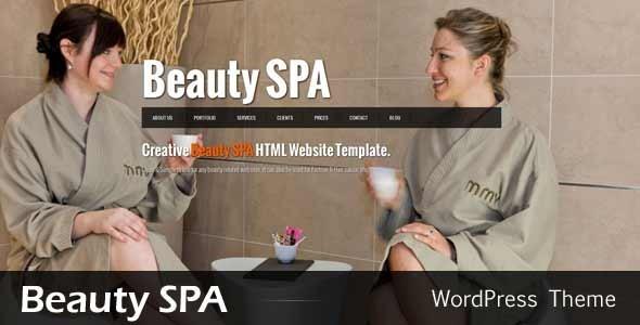 ThemeForest Beauty SPA Ajaxified WordPress CMS Theme 2953387
