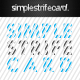 Simple Strife Card - GraphicRiver Item for Sale