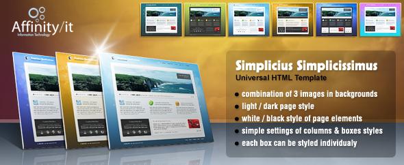 Simplicius Simplicissimus Universal Template